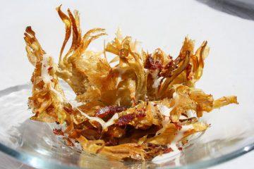 Chips alcachofas - Wikicocina
