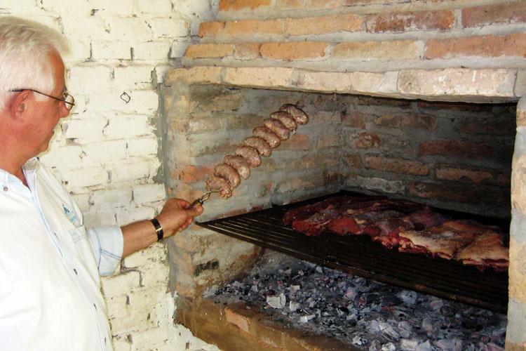 Asado argentino parrilla