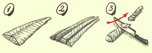 Ceviche corte pescado