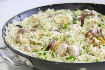 receta arroz con almejas - Wikicocina