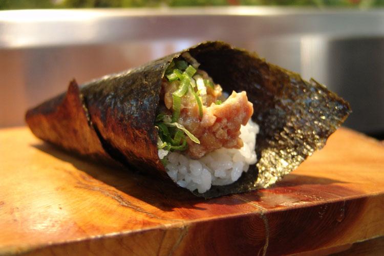 Todo sobre el sushi temaki