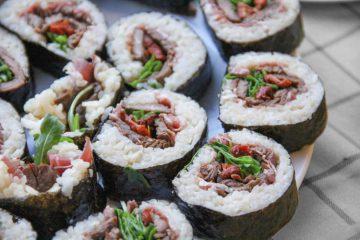 Receta maki sushi ternera jamon serrano - Wikicocina