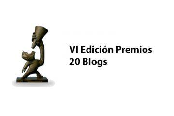 VI edicion premios 20blogs