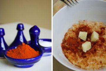 Receta de risotto queso manchego pimenton - Wikicocina