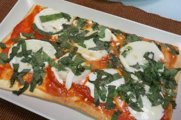 Receta pizza napolitana margarita - Wikicocina