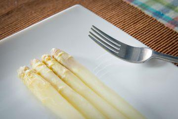 Espárragos blancos cocidos