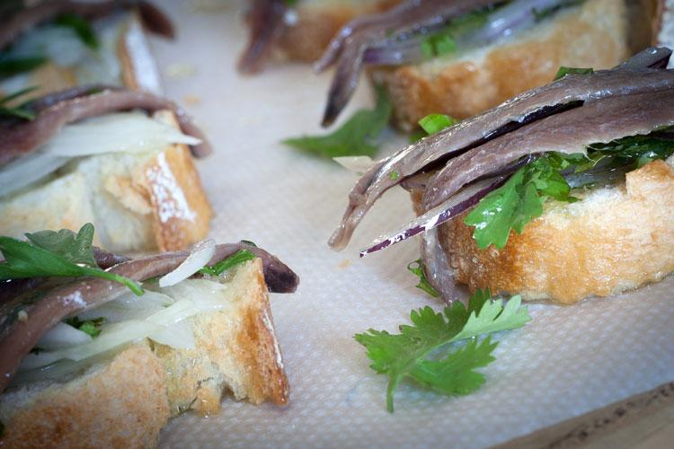 Anchoas -antxoas- marinadas