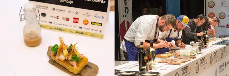 Pintxo-Gambako-Le-Impertinant-(Biarritz)-cocinero-Fabian-Feldmann-Campeonato-de-Pintxos-Amstel-Oro-Wikicocina