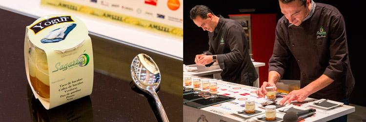 Pintxo-Yogur-Sagarra-(Ermua)-cocinero-Jesus-Gonzalez-Campeonato-de-Pintxos-Amstel-Oro-Wikicocina